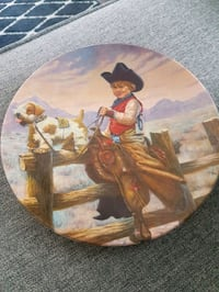 Vintage Rodeo Joe collectors plate New Tecumseth, L0L 1L0