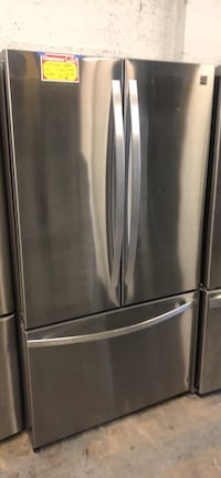 KENMORE stainless steel French doors fridge  Baltimore, 21223