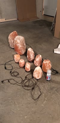 Salt Lamps. Whole Set   Bloomsburg, 17815