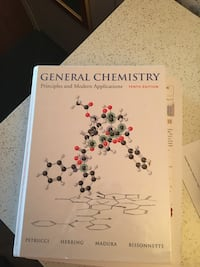 Brand new general chemistry textbook with mastering A&P Toronto, M5S 3G3
