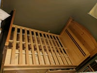 Double bedframe with 2 Drawers Port Moody, V3H 2K5