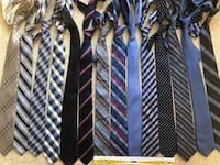 Skinny Ties 5 and 6 cm widest $6 each Winnipeg, R2V 3P3