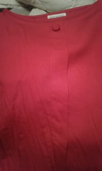 Med Red Blouse