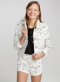Twin denim floral jacket S Richmond, V6X 2A2