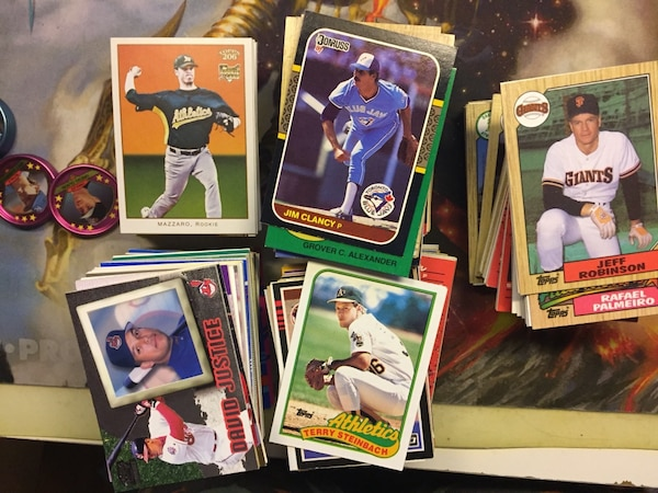 Used Baseball Card Lot For Sale In Redwood City Letgo