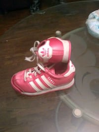 pair of pink-and-white Adidas sneakers Canton, 44721