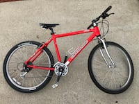 CANNONDALE F500 RED EXTRA P-BONE SHOCK Millbrae, 94030