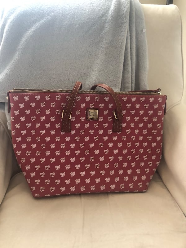 Dooney & Bourke Washington Nationals Bag f7d80fe1-cd5b-4e31-943f-0933a05eac6d