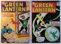 Silver Age Green Lantern #23 and #24 Mount Airy