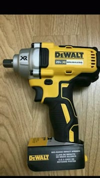 TOOL ONLY Dewalt impact wrench 1/2  Charlotte