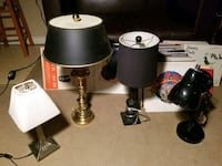 4 Lamps for Sale in Toronto Toronto, M1H 2P7