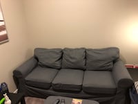 Grey love seat cover.. (not couch shown!) brand new love seat cover like this one  Calgary, T3N 0M8