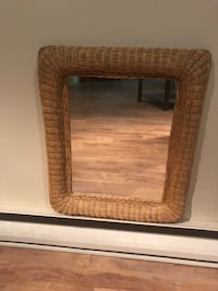 Wicker mirror excellent condition