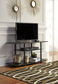 Socalle Black TV Stand | W380-118  ASHLEY Houston
