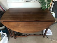 Fold out Duncan Phyfe (I believe) Table Welland