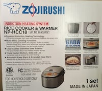 Zojirushi Rice Cooker Berkeley