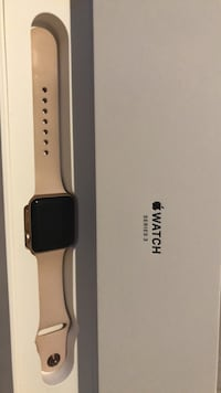space gray aluminum case Apple Watch with black Sport Band Santa Maria, 93458