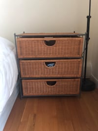 Wicker drawers (3 available) Holden, 01520