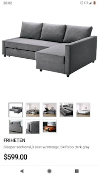 Full sized sleepee sofa IKEA Mount Rainier, 20712