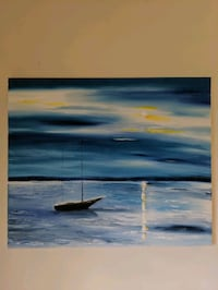 original oil painting - hand painted