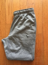 Gray therm-fit Nike sweat pants