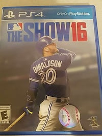 the show 16 ps4 game case