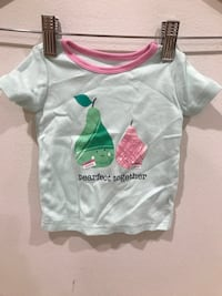 The Children's Place green Pearfect Together shirt 3-6M Tenafly, 07670