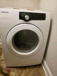 white Samsung front-load clothes washer Fayetteville
