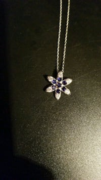 Beautiful Sterling Silver Necklace for Sale  Red Deer, T4P 3Y9