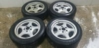 4 16 in 5x120 wheels rims and tires bmw z3  Montgomery Village, 20886
