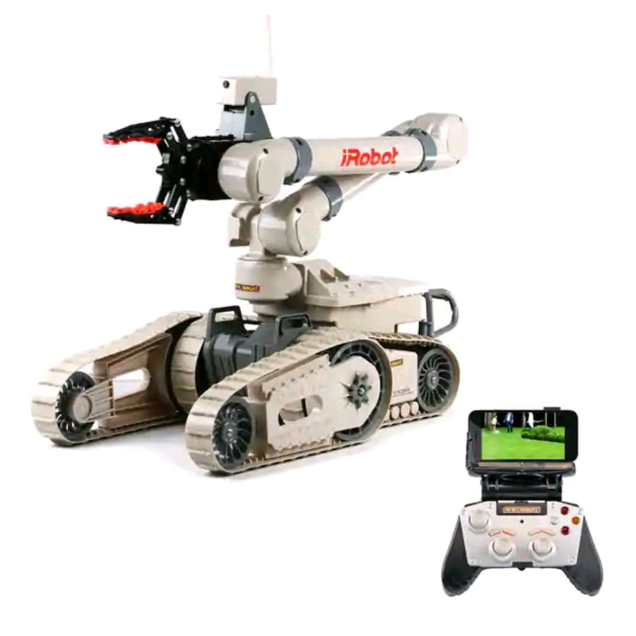 iRobot Tactical Robot with Wifi HD Camera RC Toy