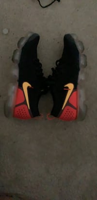 black and red Nike basketball shoes Simpsonville