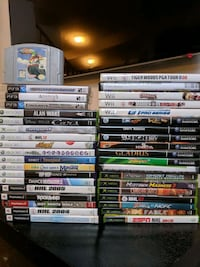 PS3 Xbox 360 Wii GameCube PS2 games lot Burlington, L7M 0B1