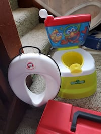 Sesame Potty & Baby Bjorn toilet adapter  Wiota, 50274