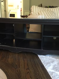 Black console table/ entertainment center Sterling, 20165