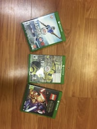 Three xbox one games North Plainfield