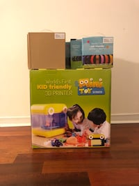 Kid Friendly 3D Printer Brand New Sealed Toronto, M2M 3S9