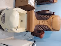 "Two ""Cerise"" pedicure massage chairs ($2,295 retail) Arlington, 22201"