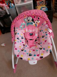 Vibrating Minnie Mouse Rocker