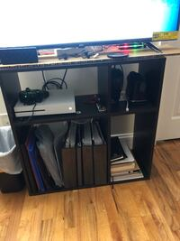 Tv stand or bookshelf non negotiable 30 by 30 inches Jersey City, 07306