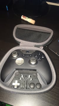 black Xbox One controller with case Mount Airy, 21771