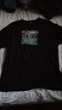 Men's black graphic tee Ajax, L1Z 1Z1