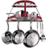 New pot rack - red color 31 km