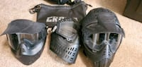 Paintball/Airsoft Masks and Tote Brandon, 39047