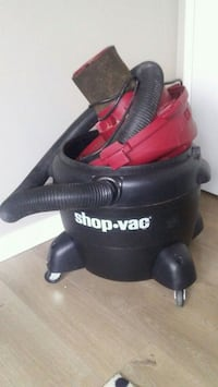 black and red Shop-Vac vacuum cleaner Edmonton, T5H 1M3