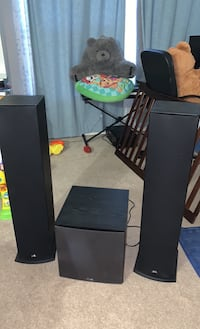 Speaker Towers and subwoofer Elkridge, 21075