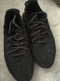 pair of black Adidas Yeezy Boost 350 Missouri City, 77459