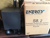 Energy S8.2 subwoofer