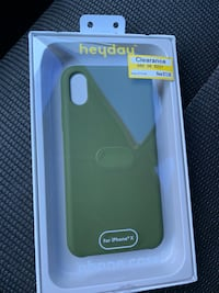 Iphone X/Xs case (olive green) NEW  Pensacola, 32504