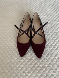 NEVER WORN Nine West shoes purple/burgundy color size 6 Kirkland, H9H 5E3